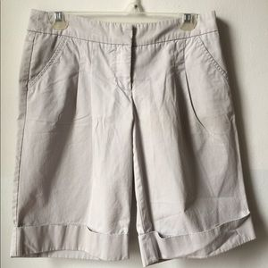 Light gray long shorts